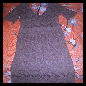 Pins and needles mini dress.(Z)